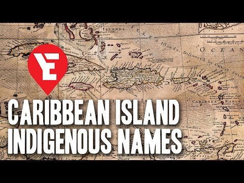 Indigenous Names of the Caribbean Islands