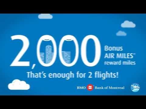 BMO - 2,000 AIR MILES Bonus