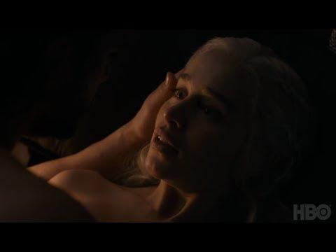 Emilia Clarke and Kit Harington on Jon and Dany's romance