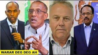 Warar Deg Deg Ah Cafiska Khayre, Qiyaanada Somaliland, Amaanta keating Farmaajo