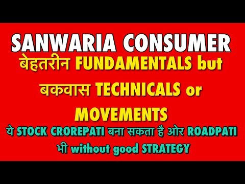 Sanwaria Consumer Multibagger Stock can make Crorepati or Roadpati without good Strategy & Patience.