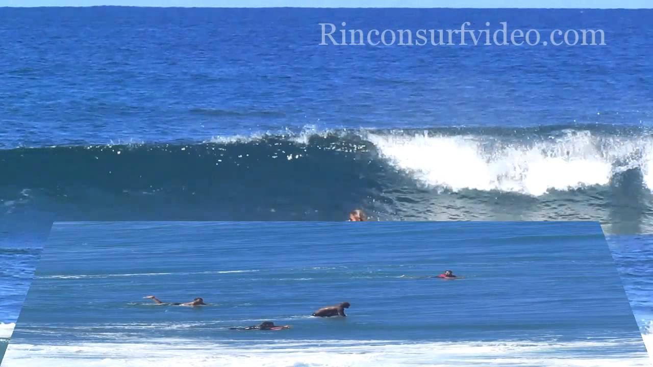 Surfing Domes Beach Puerto Rico