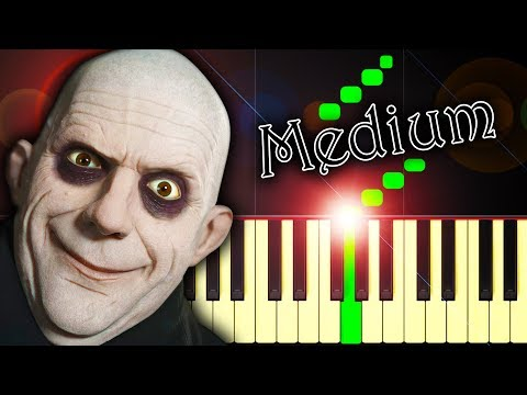 the-addams-family-theme---piano-tutorial