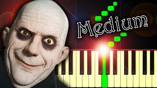 THE ADDAMS FAMILY THEME - Piano Tutorial