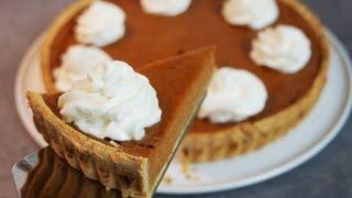 Recette de la tarte à la citrouille et aux épices - Pumpkin pie
