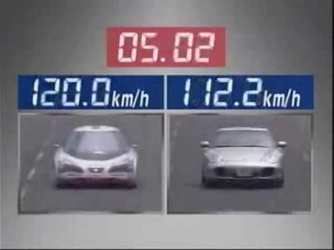 Japanese Electric Car Vs Porsche Turbo Youtube