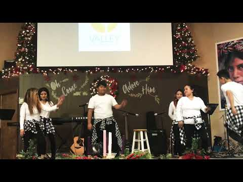 Christmas bada din // Adrian Dewan // cover dance by VCC youth