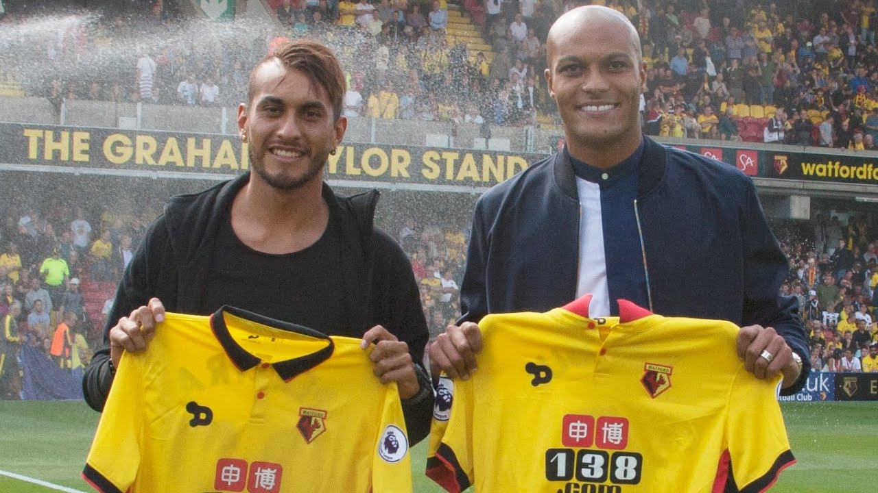 35029f72c88 NEW SIGNINGS  Watford welcome Kaboul and Pereyra - YouTube