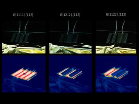 Thermal Louvers - CubeSat - Smart patterned surfaces with programmable  thermal emissivity
