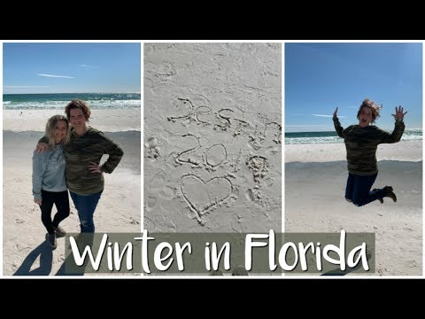 HER FIRST TIME AT THE BEACH | Eglin AFB | Military Wife Vlog