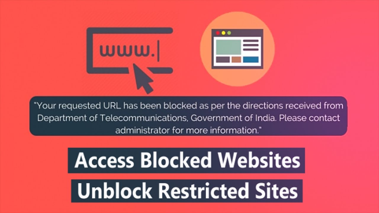 How to access blocked websites unblock restricted sites youtube how to access blocked websites unblock restricted sites ccuart Image collections