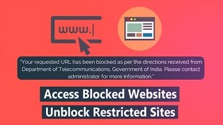 How to Access Blocked Websites & Unblock Restricted Sites