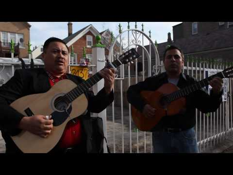 Chicago's troubadour -- Without a job, he still has music