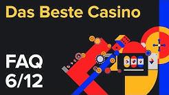 Welches ist das beste Online-Casino für mich? - FAQ [6/12]