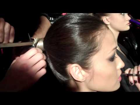Walter NYC Fashion Show Hairstyle Demo by TONI&GUY - YouTube