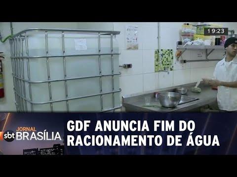 GDF anuncia fim de racionamento de água