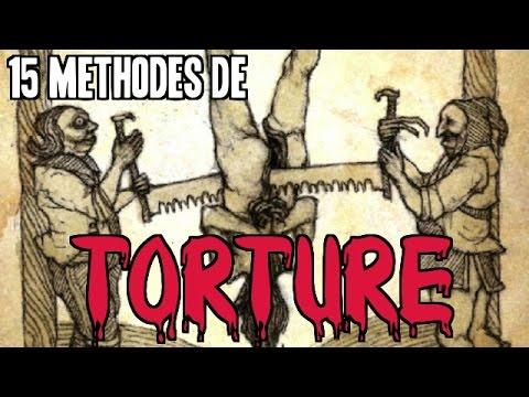 15 MÉTHODES DE TORTURE QU'ON NE SOUHAITE À PERSONNE |  Pire Instrument De Torture Du Moyen Age