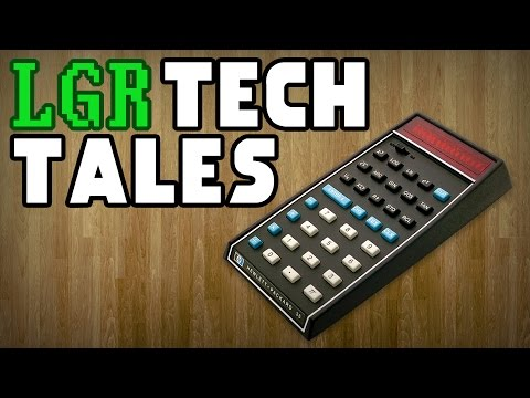 LGR Tech Tales - The Pocket Calculator Wars