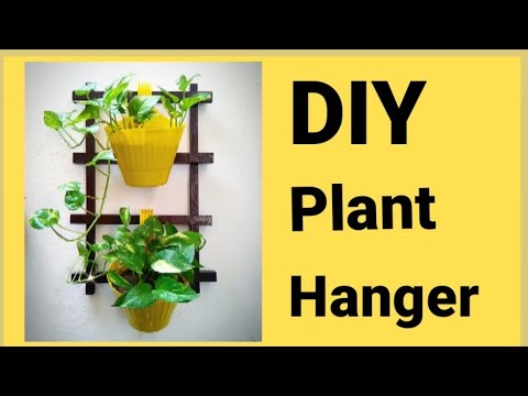 how-to-make-diy-plant-hanger-|-diy-wooden-plant-stand-|art-home