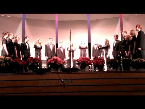 "Knoch High School Chamber Singers performing ""Fiela"""