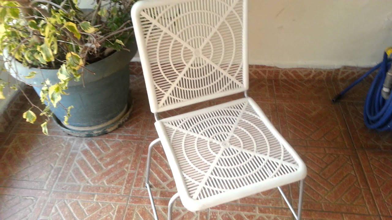 Fabrica de sillas y chambranas de festejo youtube for Sillas para festejos