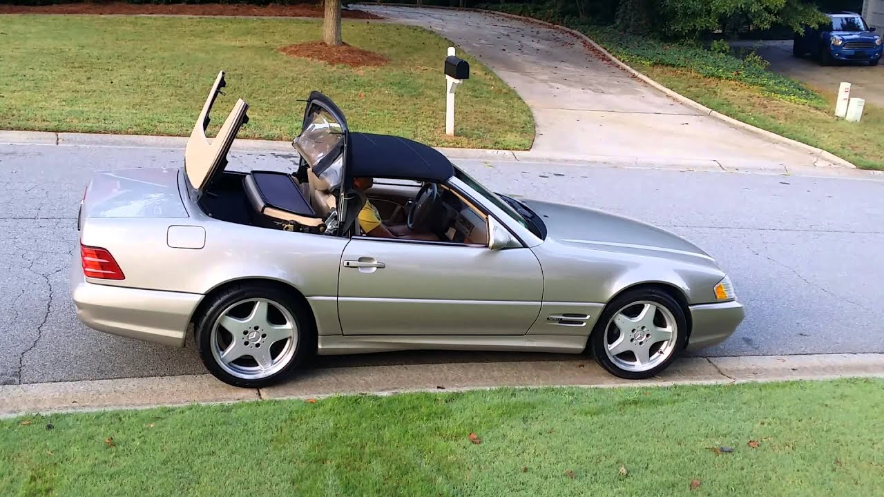 Mercedes sl500 convertible top for Mercedes benz sl500 convertible top parts