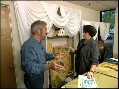 Making and Hanging Silk Drapes