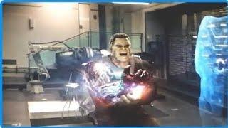 Avengers Endgame 2019 - Thanos Attacks Avengers Compound | Final Battle [1/3]