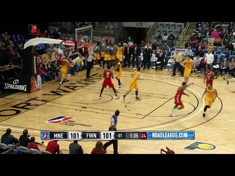 Jordan Mickey posts 26 points & 16 rebounds vs. the Mad Ants