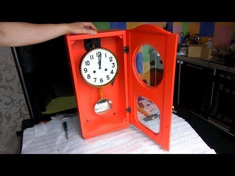Ремонт часов с боем  Бой часов с маятником ОЧЗ
