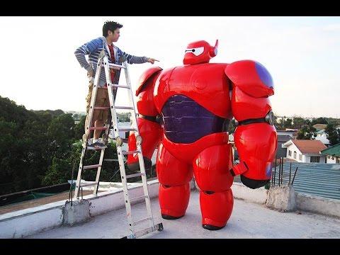 The making of Baymax - Big Hero 6