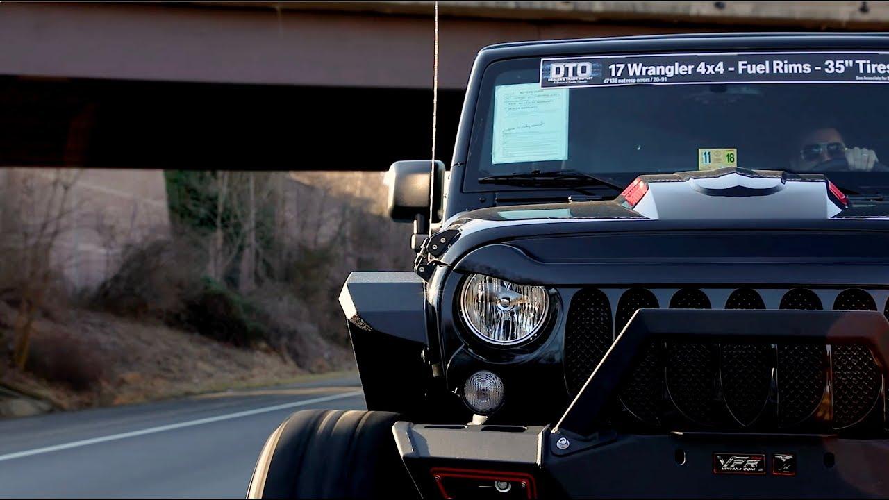 2017 Jeep Wrangler Unlimited Sport Custom Project Youtube