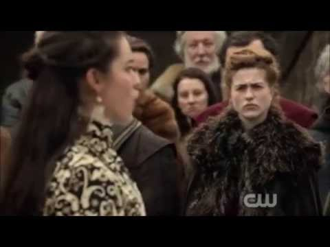 Reign 3x18 Mary's Speech in Scotland