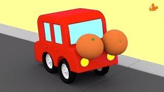 Meet the FRUITY CARS! - Compilation Cartoon - Cartoon Cars - Cartoons for Children - Videos for Kids