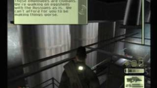 Splinter Cell 100% Lethal 07-1 Nuclear Power Plant (PS2)