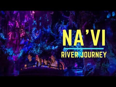 Navi River Journey - Full Ride Attraction POV - Pandora: The World of AVATAR, Animal Kingdom Park