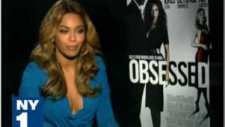 Obsessed Movie interview NY1