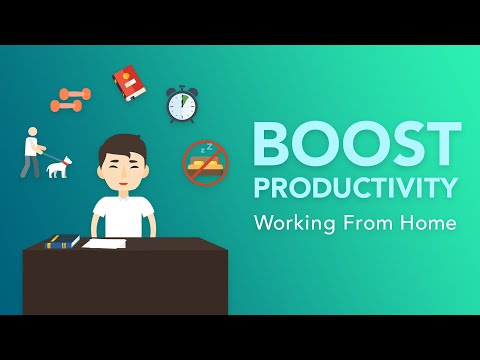 5 Productivity Tips for Working from Home | Brian Tracy