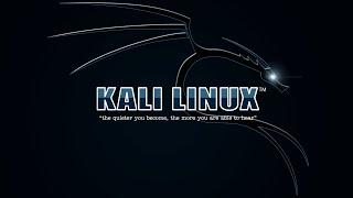 Installer et configurer Kali Linux