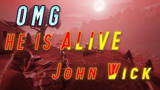JOHN WICK HE IS ALIVE!! HE NOT DEAD YET (FORTNITE)