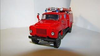 Масштабна модель пожежної машини ГАЗ-53 АЦ-30 AVD в масштабі 1:43