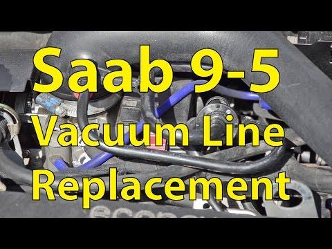 Saab 9-5 DIY: Vacuum Line Replacement (Silicone Hoses) - Trionic Seven