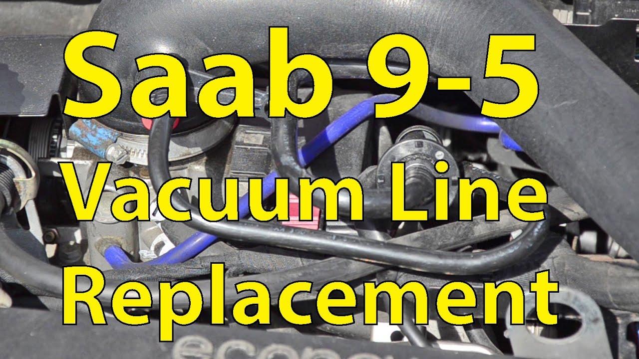 saab 9 5 diy vacuum line replacement silicone hoses trionic seven [ 1280 x 720 Pixel ]