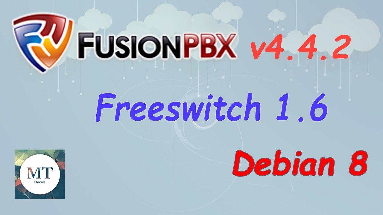 Install Fusionpbx v4 4 Debian 8 Linux tutorial