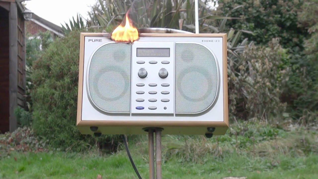 The Dab Radio Fire. - YouTube