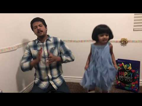 Santhosha Janma Dinam   Father and Daughter  Dubsmash   Malayalam Movie Comedy Happy Birthday