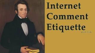 Best of Internet Comment Etiquette: Ted Cruz