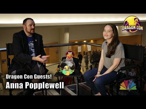 Anna Popplewell @ Dragon Con 2018 dragoncontv