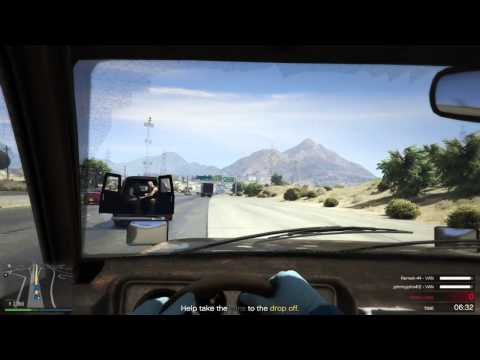 Grand Theft Auto Online: Series A funding Official Heist