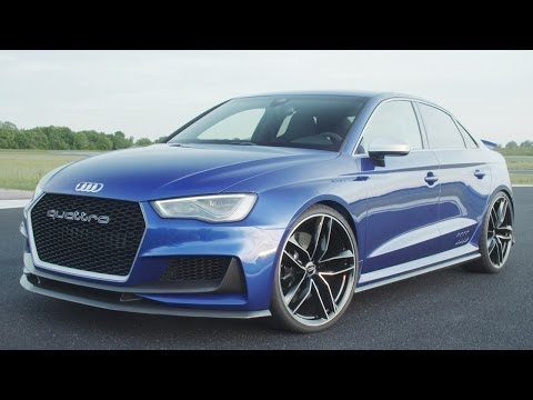 NEW Audi A3 clubsport quattro concept: Future RS3?